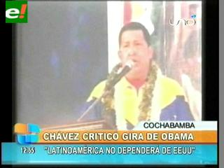 "Chávez: ""Se desató la máxima locura imperial"""