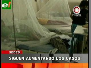 Epidemia del dengue llena los hospitales