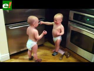 Debate entre bebés es un éxito de YouTube