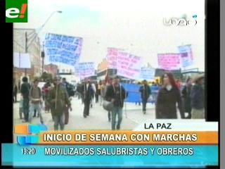 Trabajadores alistan marchas por el salario