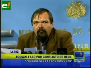 Gobierno acusa a Leopoldo Fernández de promover el conflicto carcelario