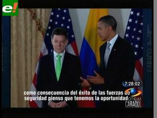 Obama y Santos se reunirán el jueves en Washington para hablar del TLC