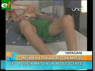"""Policía mata por error a un adolecente, lo confundieron con """"narco"""""""