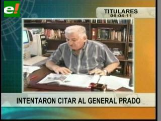 Caso Rózsa: Intentaron citar al general Prado