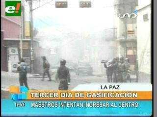 Tercer día de paros y protestas en La Paz