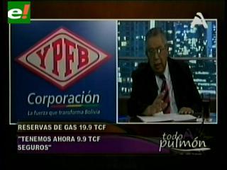 Fuga de gas en Bolivia: 9,94 TCF de reservas probadas