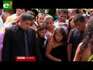 Brasil: emotivo adiós a víctimas de tiroteo en Río de Janeiro