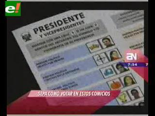 Perú: ¿Ya sabes cómo y dónde debes votar?