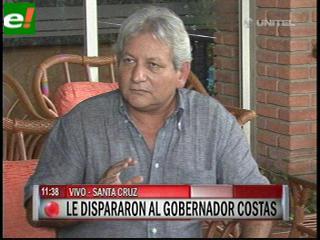 Hieren de bala al Gobernador Rubén Costas y está internado
