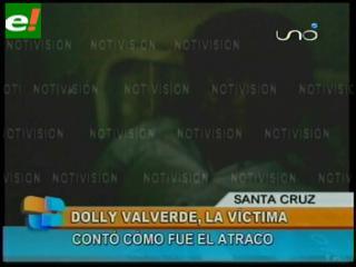 Dolly Valverde relata el atraco