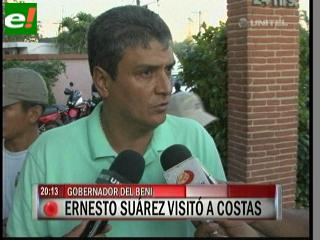 Ernesto Suárez visitó a Rubén Costas