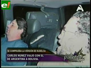 Fotografías revelan que Juan Kudelka regresó al país con Núñez del Prado