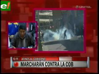 COB advierte que contramarcha del Conalcam podría generar enfrentamientos