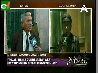 "Filemón Escobar: ""Presidente ponga orden en su partido, no permita una guerra entre pobres"""