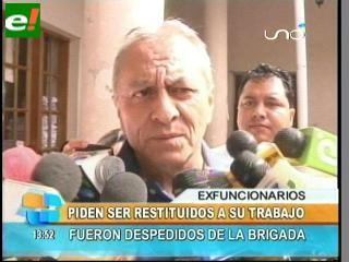 Trabajadores de la Brigada denuncian a Mauro Peña