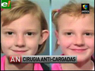Operan las orejas de una niña de siete años para no ser blanco de burlas