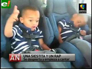 """Un niño que despierta """"rapeando"""" es la sensación de Youtube"""