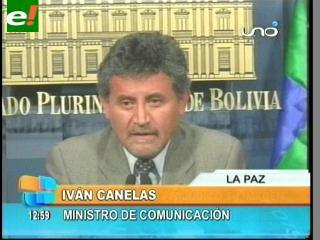 """Canelas: """"Las movilizaciones perjudicaron la imagen de la COB"""""""