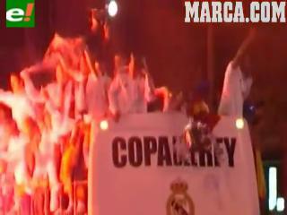 El autobús del Madrid aplasta la Copa
