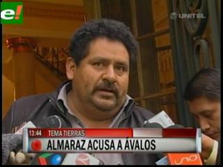 Ex viceministro Almaraz acusa a senador Isaac Ávalos de ser traficante de tierras