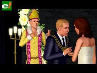 """La boda real también fue parodiada por """"The Sims"""""""