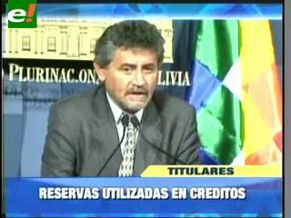 Gobierno elabora ley para usar las reservas internacionales