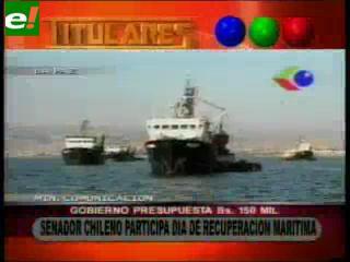 Senador chileno participará del Día de la Reivindicación Marítima