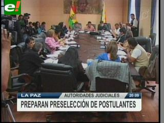 Aprueban reglamento para selección de postulantes al Órgano Judicial