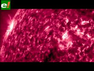 NASA publica espectacular video de la actividad solar