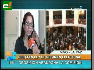 Oposición abandona diálogo para consensuar reglamento de elecciones judiciales