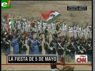 Celebraciones del 5 de mayo en EEUU y México
