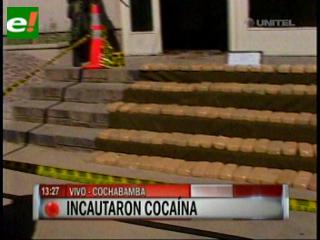Incautan droga en Cochabamba