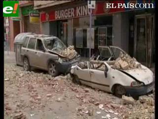 Dos terremotos sacuden Lorca y causan al menos siete muertos