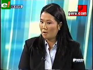Keiko: Mi padre es inocente de crímenes de Barrios Altos y La Cantuta