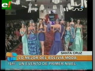 Éxito total en el Bolivia Moda