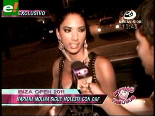 Mariana Molina se molesta con D&F en el Ibiza Open