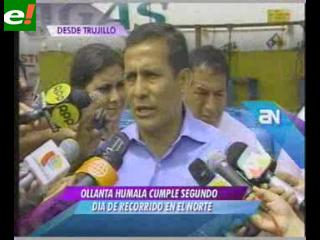 """Humala: """"El proyecto fujimorista no tiene un plan de gobierno"""""""
