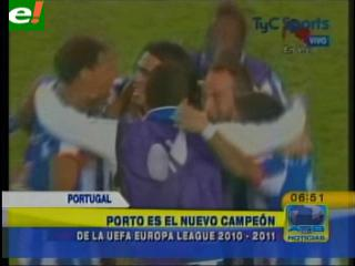 El Porto reina en la Europa League
