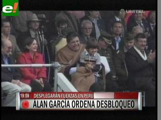 Perú ordena desbloquear Desaguadero