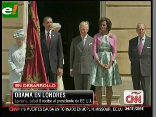 El presidente Obama llega a Londres