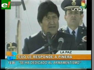 "Evo: ""Si Chile quiere diálogo que presente una propuesta concreta a Bolivia"""