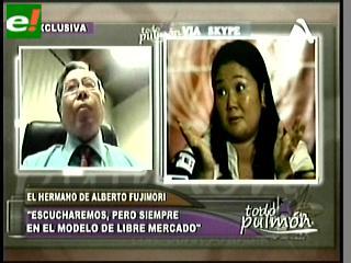 "Santiago Fujimori: ""Los que gobernaron con Alberto Fujimori no gobernarán con Keiko"""