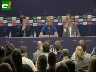 """Pep Guardiola: """"El equipo me transmite buenas sensaciones"""""""