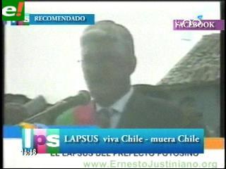 El lapsus del Gobernador Mario Virreira