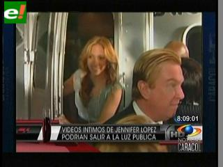 Juez autoriza divulgar vídeo íntimo de Jennifer López con su ex