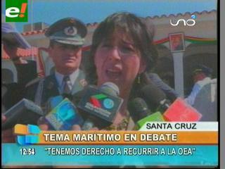 """Chacón: """"Tenemos derecho a recurrir a la OEA"""""""