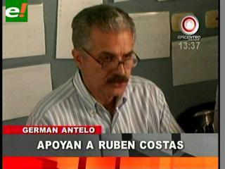 Antelo retrocede y ahora dice que apoyará a Costas