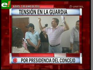 Tensión en La Guardia por la presidencia del Concejo