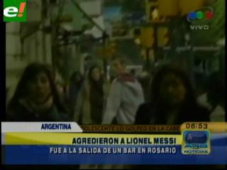 Así fue el intento de agresión a Messi