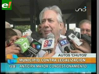 Alcaldía critica ley de amnistía para autos chutos